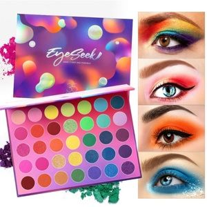 35 Color High Pigmented Colorful Eyeshadow Palette
